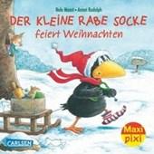 Maxi-Pixi Nr. 142: Der kleine Rabe Socke feiert Weihnachten