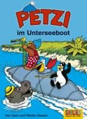Petzi 20. Petzi im Unterseeboot