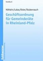 Geschäftsordnung für Gemeinderäte in Rheinland-Pfalz