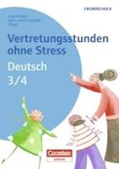 Vertretungsstunden ohne Stress Deutsch 3./4. Schuljahr
