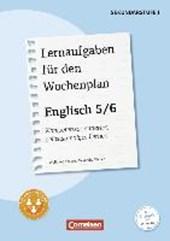 Lernaufgaben für den Wochenplan - Englisch