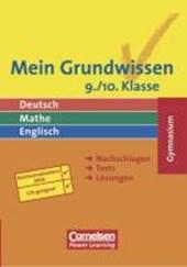 Mein Grundwissen. 9./10. Schuljahr. Schülerbuch. Gymnasium. Neue Rechtschreibung