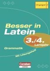 Besser in Latein. Sekundarstufe I. 3./4. Lernjahr. Grammatik