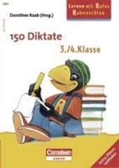 Lernen mit Rufus Rabenschlau. 150 Diktate - 3./4. Schuljahr