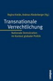 Transnationale Verrechtlichung