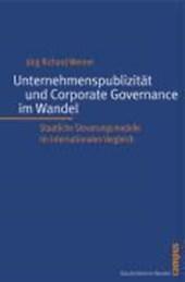 Unternehmenspublizität und Corporate Governance im Wandel