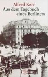 Aus dem Tagebuch eines Berliners