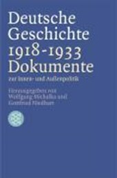 Deutsche Geschichte 1918 -