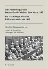 Die Nürnberger Prozesse: Völkerstrafrecht seit 1945 / The Nuremberg Trials: International Criminal Law Since |  |