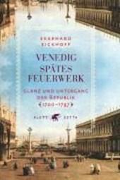 Venedig - Spätes Feuerwerk