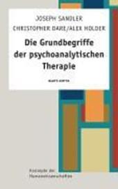 Die Grundbegriffe der psychoanalytischen Therapie