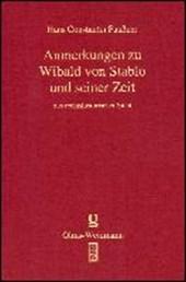 Quellen und Erörterungen zu Wibald von Stablo
