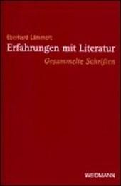 Erfahrungen mit Literatur