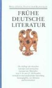 Frühe deutsche Literatur und lateinische Literatur in Deutschland 800 -