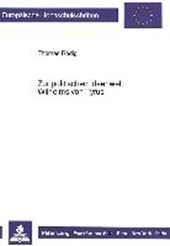 Zur politischen Ideenwelt Wilhelms von Tyrus