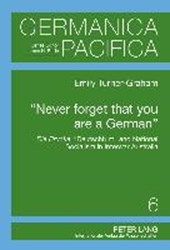 'Never forget that you are a German'