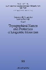 Topographical Names and Protection of Linguistic Minorities |  |