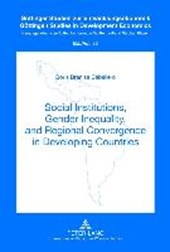 Social Institutions, Gender Inequality, and Regional Convergence in Developing Countries