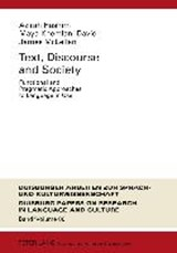 Text, Discourse and Society | auteur onbekend |