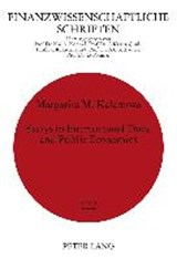 Essays in International Trade and Public Economics | Margarita M. Kalamova |