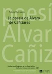 La poesía de Álvaro de Cañizares