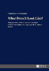What Does It Look Like? | Sebastiaan A. Verschuren |
