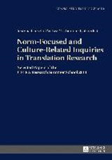 Norm-Focused and Culture-Related Inquiries in Translation Research | auteur onbekend |