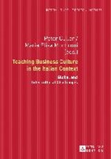 Teaching Business Culture in the Italian Context | Maria Elisa Montironi |