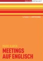 Meetings auf Englisch