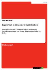 Legitimität in modernen Demokratien
