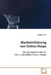 Markteinführung von Online-Shops