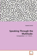 Speaking Through the Multitude | Claudia Corrieri |