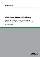 """Elisabeth Langgässer: """"Saisonbeginn"""" - Analyse der Kurzgeschichte"""