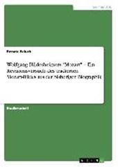 """Wolfgang Hildesheimers """"Mozart"""" - Ein Revisionsversuch des tradierten   Mozart-Bildes aus der bisherigen Biographik"""