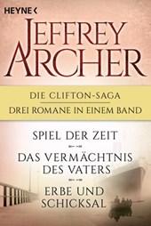 Die Clifton-Saga 1-3: Spiel der Zeit/Das Vermächtnis des Vaters/ - Erbe und Schicksal (3in1-Bundle)