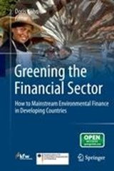 Greening the Financial Sector | auteur onbekend |
