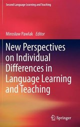 New Perspectives on Individual Differences in Language Learning and Teaching | auteur onbekend |