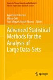 Advanced Statistical Methods for the Analysis of Large Data-Sets |  |