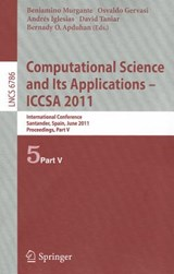 Computational Science and Its Applications - ICCSA | auteur onbekend |