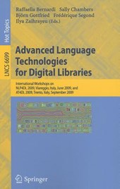 Advanced Language Technologies for Digital Libraries |  |