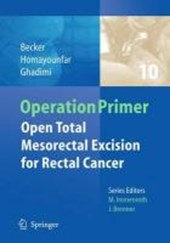 Open Total Mesorectal (Tme) for Cancer