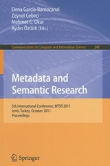 Metadata and Semantic Research | auteur onbekend |