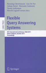 Flexible Query Answering Systems | auteur onbekend |