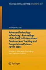 Advanced Technology in Teaching - Proceedings of the 2009 3rd International Conference on Teaching and Computational Science (WTCS 2009) | auteur onbekend |