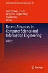 Recent Advances in Computer Science and Information Engineering | auteur onbekend |