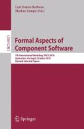 Formal Aspects of Component Software |  |