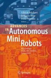 Advances in Autonomous Mini Robots |  |
