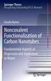 Noncovalent Functionalization of Carbon Nanotubes | Claudia Backes |