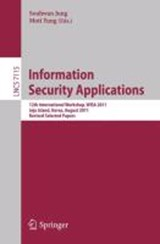 Information Security Applications | auteur onbekend |
