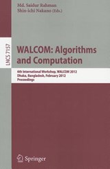 WALCOM: Algorithm and Computation | auteur onbekend |